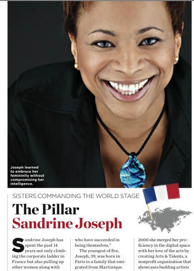 Sandrine Joseph Essence Magazine August 2011